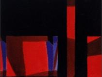 Sin título 2002. Mixta sobre papel 30 x 32 cm