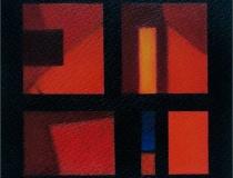 Sin título 2002. Mixta sobre papel 20 x 20 cm