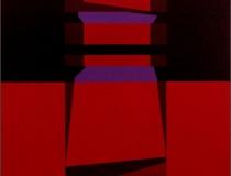 Sin título 2004. Acrílico sobre tabla 65 x 65 cm