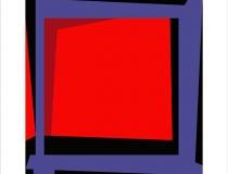 Sin título 2004. Obra gráfica original 45 x 45 cm