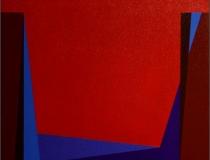 Sin título 2004. Acrílico sobre tabla 50 x 50 cm