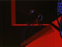 ¡Que viene la garduña! 2008. Tríptico Acrílico sobre lienzo 300 x 100 cm