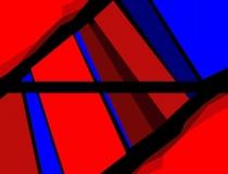 Sin título 2010. Acrílico sobre lienzo 204 x 100 cm