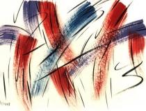 Sin título - 1987 - Acrílico Sobre Cartón - 75 x 54