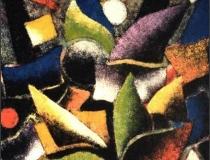 Bosque - 1989 - Acrílico sobre lienzo - 130 x 97