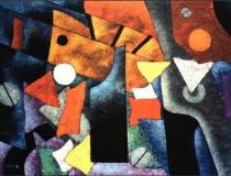 Herramientas - 1989 - Acrílico sobre lienzo - 130 x 97