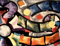 Película - 1989 - Acrílico sobre lienzo - 130 x 97