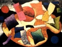 Paleta - 1989 - Acrílico sobre lienzo - 130 x 97
