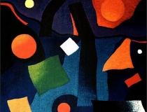 Sueño Nocturno - 1989 - Acrílico sobre lienzo - 150 x 150