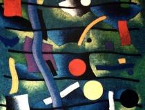 Pentagrama - 1989 - Acrílico sobre lienzo - 150 x 150