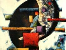 Luna - 1989 - Acrílico sobre lienzo - 130 x 97