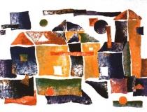 Ermita - 1989 - Acrílico sobre lienzo - 130 x 97