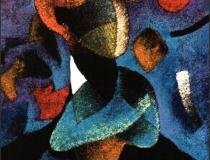 Andrógino - 1990 - Acrílico sobre lienzo - 73 x 60