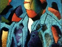 Homenaje a Van Gogh - 1990 - Acrílico sobre lienzo - 73 x 60