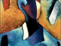 Joven Robusto - 1990 - Acrílico sobre lienzo - 73 x 60