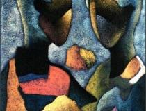 Pareja - 1990 - Acrílico sobre lienzo - 73 x 60