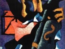 Niña Prodigio - 1990 - Acrílico sobre lienzo - 100 x 80
