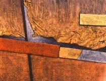 Sin título - 1991 - Mixta sobre lienzo - 73 x 60