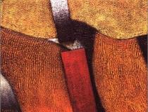 Sin título - 1991 - Mixta sobre lienzo - 46 x 38