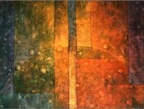 Sin título - 1992 - Mixta sobre lienzo - 195 x 130