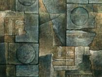 Sin título - 1993 - Mixta sobre lienzo - 162 x 130