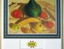 Tienda del Museo: Ofertas Bodegón 2001. Mixta sobre papel 58,5 x 53,5 cm