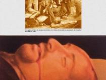 Tienda del Museo: Prensa Israelí muerto 2001. Mixta sobre lienzo 47 x 33 cm