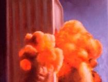 Tienda del Museo: Prensa 11 S 2001. Mixta sobre lienzo 47 x 33 cm