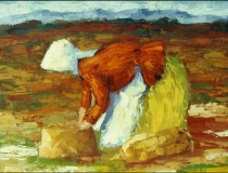 Campesina - 1986 - Óleo sobre lienzo