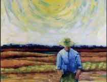 Campesino - 1986 - Óleo sobre lienzo