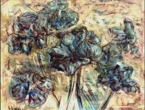 Flores - 1986 - Óleo sobre lienzo