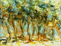 Arboleda - 1986 - Óleo sobre lienzo