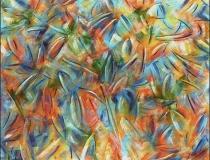 Hojas - 1986 - Óleo sobre lienzo