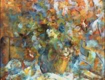 Florero - 1986 - Óleo sobre lienzo