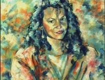 Retrato - 1986 - Óleo sobre lienzo