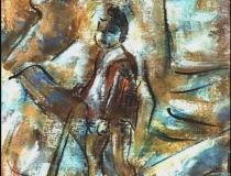 Niño - 1986 - Óleo sobre lienzo