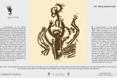 Arte Macroesquemático - Generalitat Valenciana - Diputación Provincial de Alicante - Castell de Castells (Alicante)
