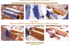 Libro - Restauración Arquitectónica y Conservación en Yacimientos Arqueológicos - Museo Arqueológico de Alicante - Departamento de Arquitectura - Diputación Provincial de Alicante