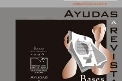Díptico - Bases 1996 Ayudas a Revistas - Instituto de Cultura Juan-Gil Albert - Diputación Provincial de Alicante
