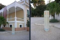 Totem de Presentación - Finca Villa Marco - Ayuntamiento de Campello