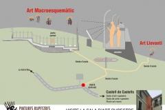Pla de Petracos - Castell de Castells